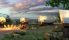 Glamping at Conestoga Ranch, Bear Lake, Utah. Utah Resorts, Hotels And Resorts, Vacation Resorts, Go Spot, Utah Adventures, Outdoor Adventures, Go Glamping, Luxury Camping, Lodges