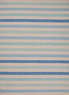 Pura Vida Bosque Oyster Gray/Blue Heaven Area Rug