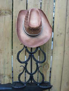 Horseshoe Lamp Curled by mollyannemake on Etsy, $235.00