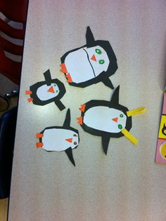 Taylor's penguin family