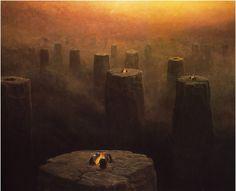 Zdzisław Beksiński - surrealismo