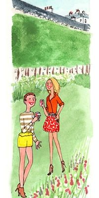 Garden party entre copines