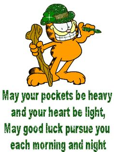 """GARFIELD"" St. Patrick's day..."
