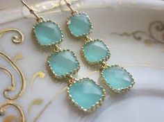 blue earrings - Recherche Google
