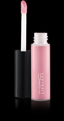 "MAC Lipglass  ""Pink Fade"" - light creamy pink love this!!"