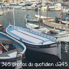 Les jolis pointus dans le port Lympia de Nice! #365virginieb2 #themouse #portdenice #portlympia #pointu #bateau http://themouse.org