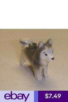 Artic Animal 60036 16606pb001 LEGO NEW Minifigure HUSKY Dog