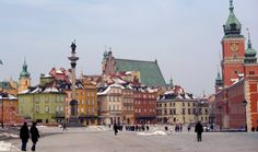 Warsaw, Poland. I lived in Poland for the first 7 years of my life!
