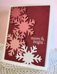 Pink snow??? by fionna51 - Cards and Paper Crafts at Splitcoaststampers