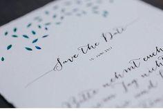 Boho Wedding mit peruanischem Feeling. Save-the-Date Karte gedruckt auf Büttenpapier. Hochzeitspapeterie: CARTE ROYALE, Konzeption: shopandmarry, Fotografie: Cornelia Lietz