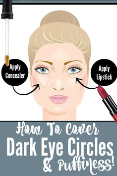 Top 5 Ways To Get Rid Of Under Eye Bags And Dark Circles, By Barbie's Beauty Bits.