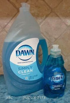 ORIGINAL BLUE DAWN . . . IT'S NOT JUST FOR DISHES ...