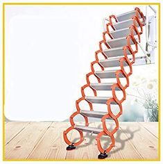 Attic Stairs Pull Down, Loft Stairs, Retractable Stairs, Best Ladder, Attic Ladder, Loft House, Aluminium Alloy, Wine Rack, Home Improvement