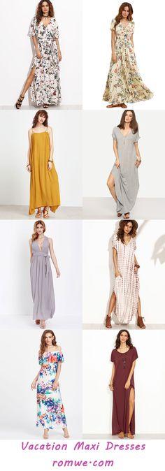 Summer Beach Maxi Dress - romwe.com