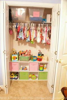 Nice use of closet space