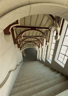 A. Vanderelst - Architectural visualization