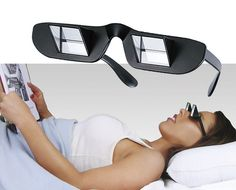 These glasses that allow you to read while lying down. | 19 Clever Products Every Lazy Girl Should Own