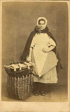 Carte de Visite by George Oman  -   fishwife