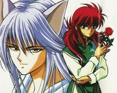 kurama in fox form   Hiei uses an evil eye, or Jagan, a regular katana (sword) and fire ...