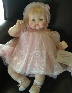 "Madame Alexander KITTEN 18"" Doll 1962 Excellent Lke New Vintage w Tagged Clothes"