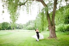 The Credit Valley Golf and Country Club provided the perfect backdrop for this couple's elegant celebration. Engagement Pictures, Wedding Pictures, Elegant Couple, Country Club Wedding, Vows, Golf Clubs, Real Weddings, Wedding Reception, Backdrops