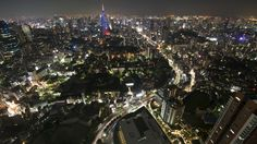 Tokyo Night Cityscapes 1080p HD Wallpaper Widescreen