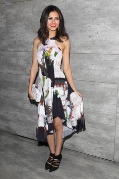 Victoria Justice - Rebecca Minkoff fashion show in NYC 2/13/15