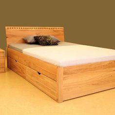Massivholzbett Trauminsel. Metallfreie Betten in alter Handwerkstradition in Süddeutschland gefertigt. Aus kontrolliert nachhaltiger und umweltgerechter Forstwirtschaft.