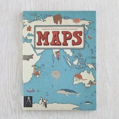 Maps  | The Land of Nod. Emi is a map fanatic. KNows her countries but now wants to know which animals live in each. This shows her and has beautiful illustrations