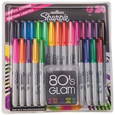 Larger image for Sharpie® Permanent Markers  (set of 24)