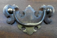 """Aged to Perfection"" Chippendale Vintage/Antique Drawer Pulls..2.5"" on center"