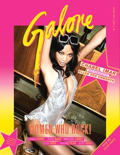 Chanel Iman por Ellen von Unwerth para Galore Magazine #2