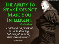 Qui-Gon AND the Bible? That's like twice the usual amount of awesome either one possesses.