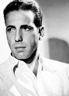 """Humphrey DeForest Bogart -- photo taken in the thirties. Clifton Webb once said about Bogart, """"Humphrey was not a tough guy, He was not at all. Hollywood Actor, Golden Age Of Hollywood, Hollywood Stars, Classic Hollywood, Old Hollywood, Humphrey Bogart, Classic Movie Stars, Classic Films, Bogie And Bacall"""