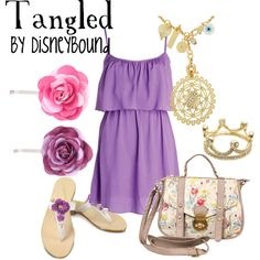 """Tangled"" by lalakay on Polyvore"