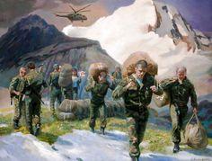 Soviet Conscripts dropped into battle, Soviet-Afghan War