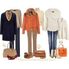 Wardrobe for Warm Tones by fiftynotfrumpy on Polyvore featuring Madewell, Topshop, H&M, Wallis, Warehouse, Viyella, Reiss, Not Rated, ALDO and rsvp