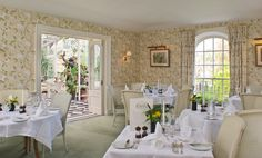 Ballymaloe House, in Cork, is a family-run romantic country house hotel famous for its outstanding hospitality and superb food. Green Dining Room, Country House Hotels, Blue Books, Table Settings, Table Decorations, Furniture, Home Decor, Decoration Home, Room Decor