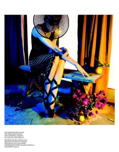 Model: Kendra Spears   Magazine: Vogue China March 2013   Shoot: Camilla Åkrans