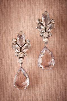 Vianne crystal drop Earrings from @BHLDN