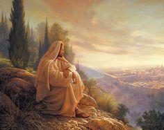 O Jerusalem - Greg Olsen  meditation