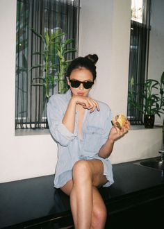 Your go-to source for sunglasses for men and women. Shop curated classics and latest trends. Georgina Wilson, Sunnies Studios, Come Undone, Weekend Vibes, Kurt Cobain, Girl Crushes, Cool Girl, Latest Trends, Celebrity Style