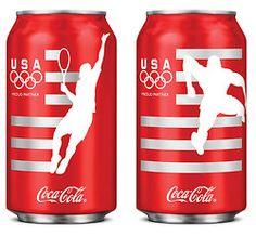 Team USA Coca-Cola cans. 3.