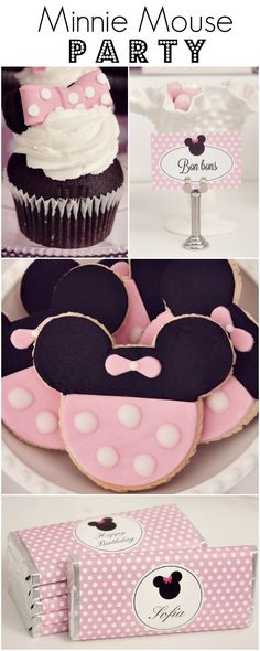 Classy Minnie Mouse party