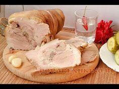 Как отварить СВИНУЮ РУЛЬКУ / мастер-класс от шеф-повара / Илья Лазерсон / Обед безбрачия - YouTube Baked Pork, Pork Chops, Camembert Cheese, Recipies, Ice Cream, Meat, Baking, Desserts, Food