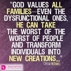 Daily Devotional -The Value of Family: http://daughtersofthecreator.com/the-value-of-family/