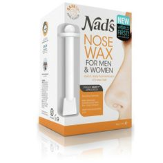 Nad's Nose Wax by NAD'S. $29.95. Nad's Nose Wax is the complete DIY nose wax for men and women. This world first product allows you to easily and effectively remove unsightly and embarrassing nose hair. The specially formulated sensitive hard wax can also be used to remove blackheads from the nose surface.  Nad's Nose Wax, containing chamomile and aloe, is applied with the unique Nad's SAFETIPTM applicator that is designed to target the hair around the edge of ...