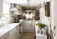 DARLING WHITE KITCHEN - Moorland View Cottage, Luxury Boutique Cottage in Devon, U.K.
