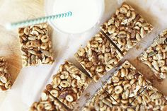 Healthy Cheerios Bars