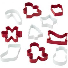 Tis the season to bake yummy cookies with a set of Christmas Cookie Cutters. Package includes 10 different Christmas cookie cutters. Halloween Cookie Cutters, Metal Cookie Cutters, Christmas Cookie Cutters, Cookie Cutter Set, Oktoberfest Halloween, Halloween Kids, Christmas Gifts For Friends, Christmas Decor, Cookie Box